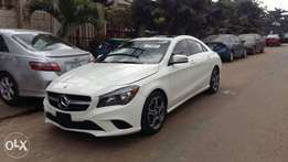 Clean Trim off white Tokunbo 2014 Mercedes Benz CLA250