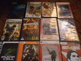 12 Secondhand PC games bundle
