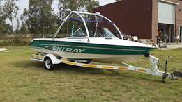 Sea Ray Ski Ray 22ft Mercruiser inboard 285hp