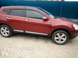 Red Nissan dualis New number