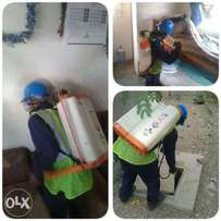 Fumigation, spraying and pest control