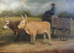 Oxen and Cart - Johnny Boerstoel