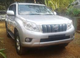 2010 Toyota L/C Prado 150 series, auto 3.0L turbo diesel, new import.