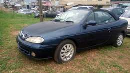 Renault Megane 1998 Convertible Coupe