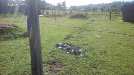 1/8 plot for sale at maili nne mountain view estate in eldoret