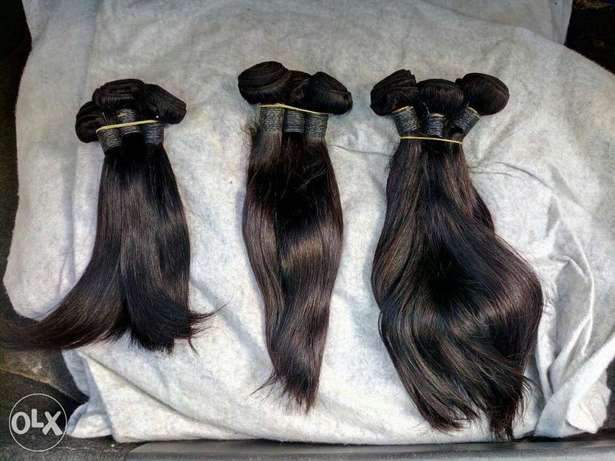 Indian Remy Human Hair weaves(Prices vary in terms of inches) Mombasa Island - image 4