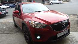 2015 Mazda CX-5 2.2de active Auto with 77000km
