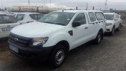 2014 Ford Ranger 2.2tdci XL L/R P/U S/C with canopy