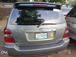 Clean register 06 Toyota highlander