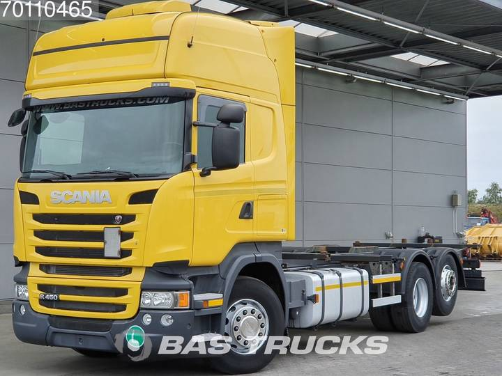 Scania R450 R450 6X2 Retarder Liftachse 3-Pedals Standklima Euro 6 - 2014