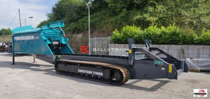 Powerscreen Chieftain 2100x Chassis - 2015