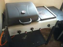 Auto ignite Gas braai with grill plate