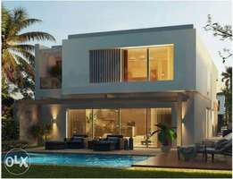 villa for sale in BADYA palm hills with 0% down &10years