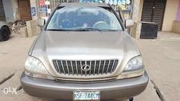 Lexus RX300 for sale 1year and 2 months used