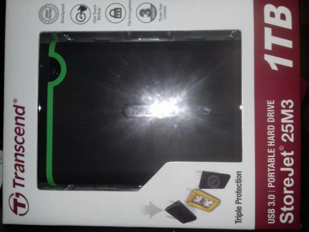 1TB External hard drive USB 3 sealed in boxes Newcastle - image 2
