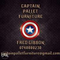 Captain pallet furniture
