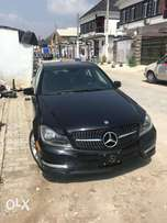 just landed 2013 MB C300 with amg grill and exhaust tail