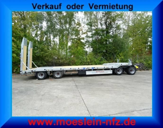 Möslein T 4L VB F 4 Achs Tieflader- Anhänger mit ABS-- N - 2019