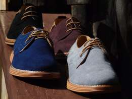 Smart casual derby shoes.