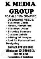K Media Group Graphic designing & printing