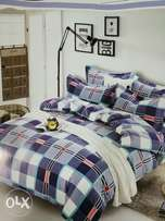 Cotton Duvets (5*6 & 6*6)with one bed sheet and 2 pillowcases