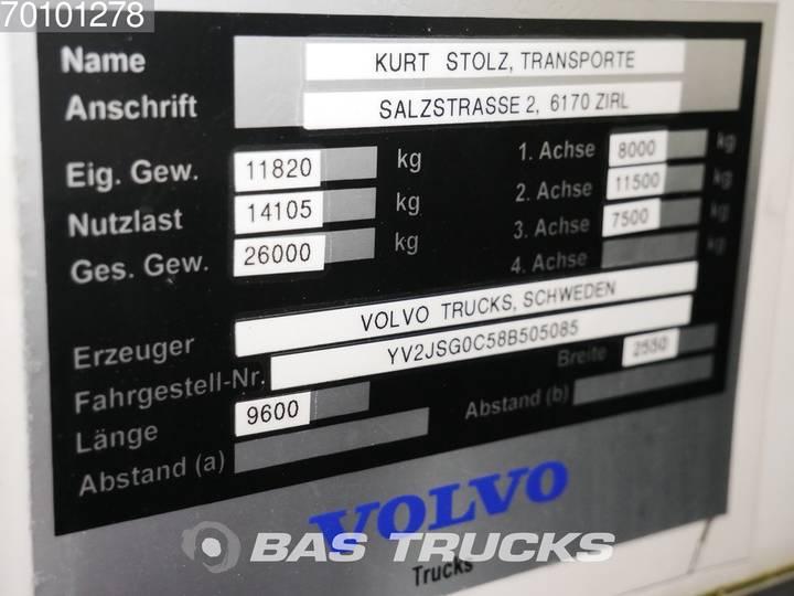 Volvo FM 400 6X2 Retarder Lift+Lenkachse Ladebordwand Euro 5 - 2008 - image 15