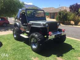 Willys jeep v8