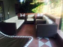 We manufacture Plastic/Flexi Cane furniture