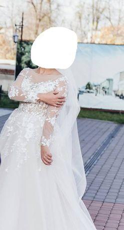 f90056256a0fdf Архів: Свадебное платье/Весільна сукня: 5 900 грн. - Весільні сукні Житомир  на Olx