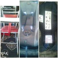 high chair car seat and baby sling /carrier
