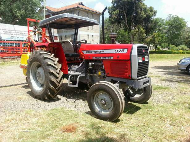 Massey Fugerson 375 tractor plus plow 2016 model.buy on hire-purchase! Lavington - image 1