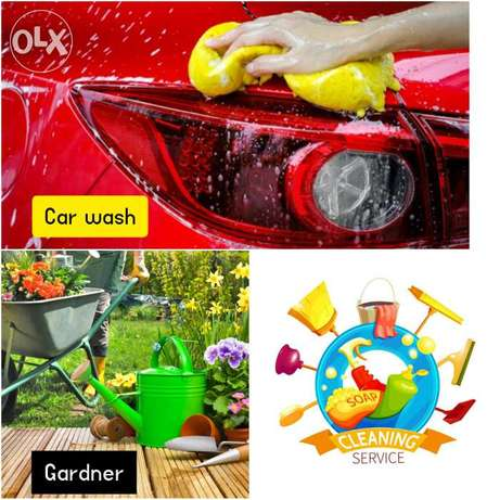 Flat Cleaning Gardening service