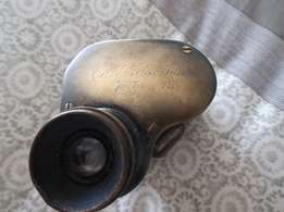 Carl Zeiss Jena . Interesting monocular. 1896/1897 rare 12x REDUCED