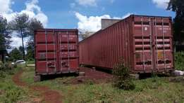 Empty shipping Containers 40 and 20ft