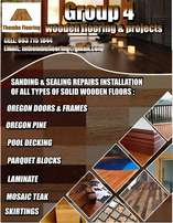 Sanding and sealing restoration repairs of all types of wooden floors