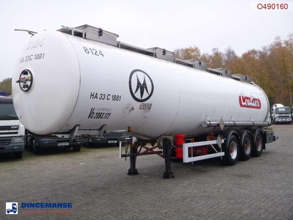 Magyar Chemical tank inox 37.4 m3 / 1 comp - 1999