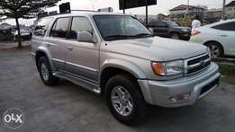Clean Tin Can Cleared Toyota 4runner Limited 2000 Edition With Auto