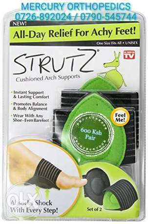 Strutz® Cushioned Arch Supports (One Pair) Riruta - image 2