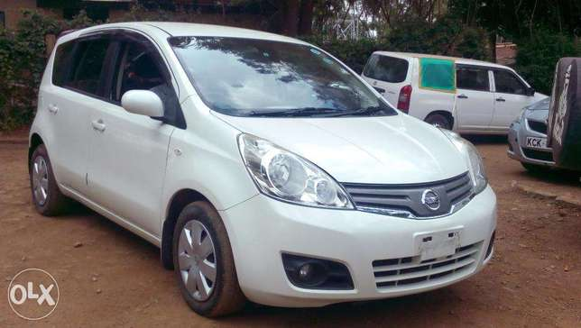 Nissan Note 2010 Pearl white, just arrived Westlands - image 1