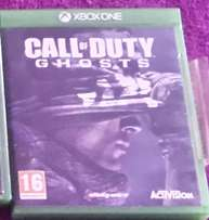 xbox one COD Ghost