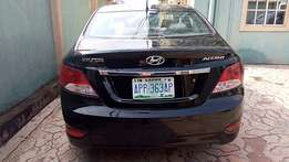 Registered Hyundai Accent (2012) Bought brand new