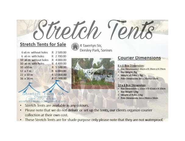 Stretch tents Springs - image 3