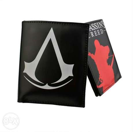 Assassin's Creed men's Leather Two Fold Wallet
