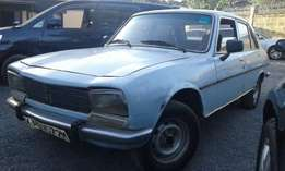Peugeot 504SR local,manual petrol.trade in ok
