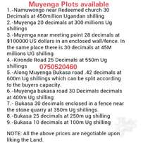 Muyenga Plots affordable prices