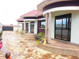 2bedrooms + a seating room self contained on Gayaza road