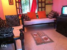 Beach villa fully furnished in a gated community