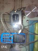 Fairly used Nokia 100 with followcome batery and charger for sale