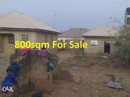 750sqm Land For Sale At Arab Road, By Catholic Church, Kubwa.