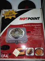Brand New Von Hotpoint Electric HHP-T1C Table Top Single Coil Cooker